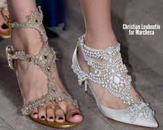 Christian-Louboutin-Marchesa-Spring-2013......awesome site for shoes (ALL TYPES) . very cool :)