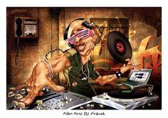 DJ Frank by Adam Perez