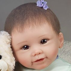 Baby Dolls and Child Dolls - carosta.com - Lily And Gracie Bear Baby Doll - detail