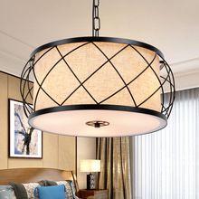 Techo de estilo Chino moderno luz de techo circular lámpara LLEVÓ la iluminación del estudio del dormitorio sala de estar RETRO arte del restaurante lig(China (Mainland))