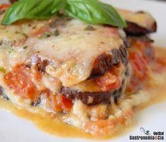 Melanzane alla parmigiana    Gastronomía & Cía