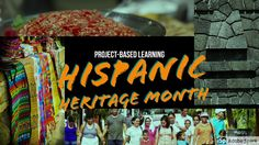 One of my favorite times of year in Spanish class is Hispanic Heritage Month. For those of us who start class after Labor Day, September 15 marks that magical time when kids are jussssst starting t… Spanish Teacher, Spanish Class, Teaching Spanish, Spanish Projects, Learn Spanish Online, Hispanic Heritage Month, World Languages, Class Activities, Project Based Learning