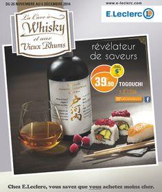 Catalogue E Leclerc La cave à whisky et aux vieux rhums du mercredi 26 novembre 2014 au samedi 6 décembre 2014 ( 26/11/2014 - 06/12/2014 )