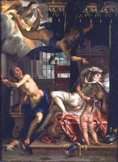 Δίας και Δανάη Joachim Wtewael (1566-1638)