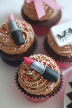 Beauty Party: un compleanno teen tra make up e benessere. Cupcake