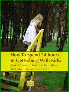 How to do a short Gettysburg Vacation with kids. Tips on restaurants, hotels, how to tour the battlefield, which museums to visit, and other fun things to do.