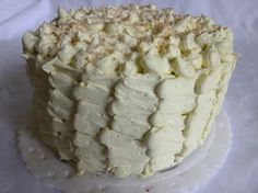 Good Housekeeping Lemon and Coconut Ruffle Cake