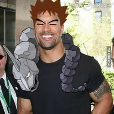 Is that Dwayne the Brock Johnson?