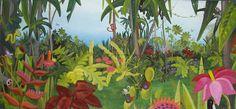 Jungle Murals | Jungle Mural at Cronulla Library