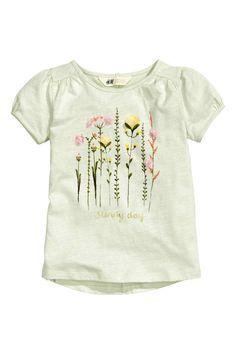 T-shirt print jersey   H & M