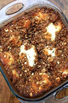 Pioneer Woman- Best Coffee Cake Ever – Wow your holiday guests and family with this breakfast treat!