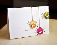 fun and simple halloween card