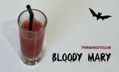 Bloody Mary # Comenzamos la temporada Halloween 2013 con el sangriento cóctel Bloody Mary, una propuesta con alcohol para el aperitivo de la cena de la Noche de Brujas, o como acompañamiento para los adultos de la merienda …