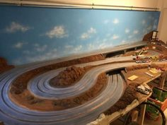 Baubericht – FREAKPALACE Slot Car Racing, Slot Car Tracks, Slot Cars, Off The Wall, Courses, Airplane View, Circuits, Tutorial, Lego