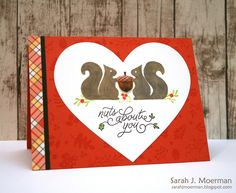 Hi everyone!     I'm back to share a final card made using the Simon Says Stamp October 2016 Card Kit and to remind you about a couple of ...