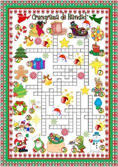 Crucigrama de Navidad