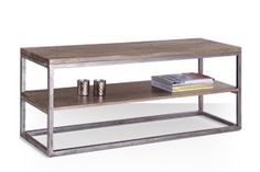 Swoon Editions Industrial style media unit: The stylish Sullivan, just £199