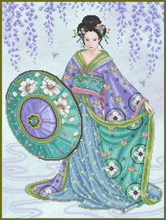 Joan Elliot Designs I would love to stitch this next year.