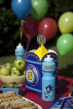 Great Sonic Birthday Party Kits #Boys #Party #BirthdayExpress