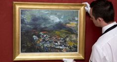 Sleep Sound : A Jack B Yeats painting owned by the late  David Bowie is to be auctioned soon. Sleep Sound, an oil-on-canvas measuring 18x 24 inches, has been valued at up to £180,000 (€208,000) and is to be sold by Sotheby's in London in November.