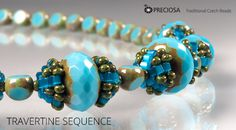 Bead caps - free PDF from Preciosa-Ornela #Seed #Bead #Tutorials