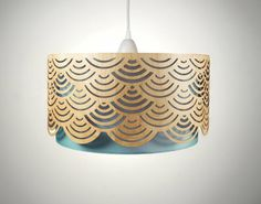 woodcut lampshade