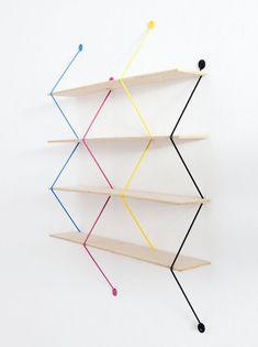 Serpent Shelves by Bashko Trybek