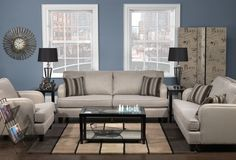 Living Room Furniture The Marielle Collection Sofa