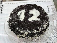 Το Καινό: Τούρτα καραμέλα σοκολάτα Birthday Cake, Sugar, Desserts, Food, Tailgate Desserts, Deserts, Birthday Cakes, Essen, Postres