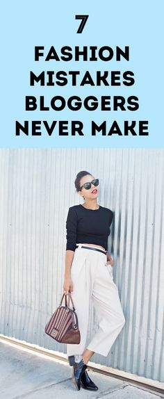 7 Fashion Mistakes B