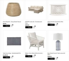 Shopping list example Online Home Design, Design Your Home, Hill Interiors, Interiors Online, Can Design, Layout Design, Mcm House, Provincial Furniture, Home And Living