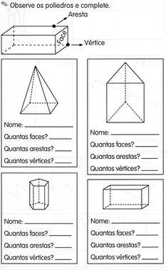 Atividades de Matemática 5° ano - Geometria — SÓ ESCOLA