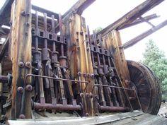 Victorian steam powered mill