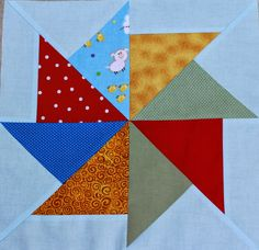 Flying Kite Block - Wishes Quilt along