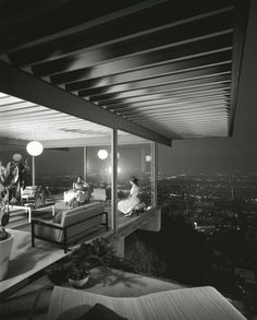 Case Study House No. 22, Los Angeles, Julius Shulman, 1960