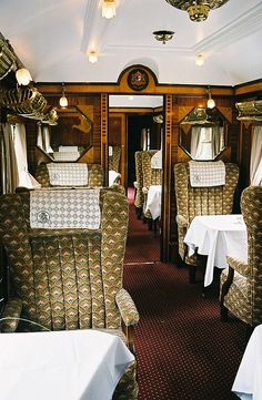 Orient Express Boat Train