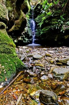 Secret Falls  Hobart Tasmania