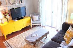 Small, adorable living room