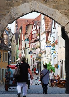 Rothenburg, Germany on the romantic road Just so pretty might have to get a picture like this