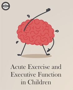 Research indicates that acute bout of exercises improves executive function in children. Children should participate in physical activity during school.