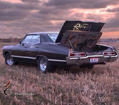 Offroad and motocross supernatural baby impala 1958 chev Supernatural Impala, Supernatural Wallpaper, Supernatural Tv Show, Supernatural Bunker, Supernatural Twitter, Supernatural Cartoon, Supernatural Drawings, Supernatural Pictures, Castiel