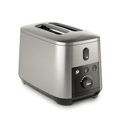 Enter our giveaway and an OXO On 2 Slice Motorized Toaster could be yours. Small Kitchen Appliances, Kitchen Tools, Cool Kitchens, Home Appliances, Kitchen Things, Kitchen Utensils, Kitchen Gadgets, Best 2 Slice Toaster, Stainless Steel Toaster