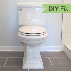 How to Install a Toilet in an Hour Putting a new commode in a bathroom or powder room yourself saves plumber fees, and it's less scary than you might expect