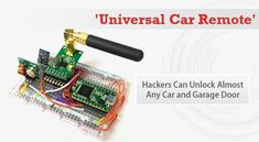 Anatomy of the Rolljam Wireless Car Hack | Hacking | Car hacks, Diy