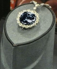 The REAL Hope Diamond at the National Museum of Natural History in Washington, D.C.