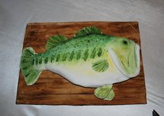 Pin Bass Fish Groom's Cake » Grooms Cakes On Pinterest