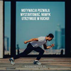 Motywacjabłyskawiczna - jak w 6 krokach zmotywować każdego do wszystkiego W 6, Running, Inspiration, Instagram, Blog, Biblical Inspiration, Keep Running, Why I Run, Jogging