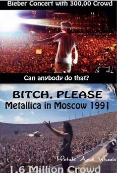 #BitchPlease #JustinGayber  #Metallica #Rules !!