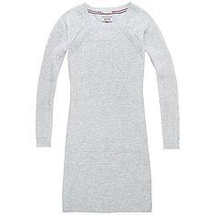 Schönes, Hilfiger Denim Kleid mit leichtem Strick und aus hochwertiger Materialqualität. Das Logostitching befindet sich auf dem Ärmel.100% Baumwolle...