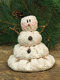 Lil' Melting Plush Snowman The ultra soft Melting Snowman is accented with twig arms and tiny jingle bells. Christmas Sewing, Christmas Fabric, Christmas Snowman, Winter Christmas, Country Christmas, Primitive Christmas Ornaments, Christmas Trees, Snowman Crafts, Christmas Projects